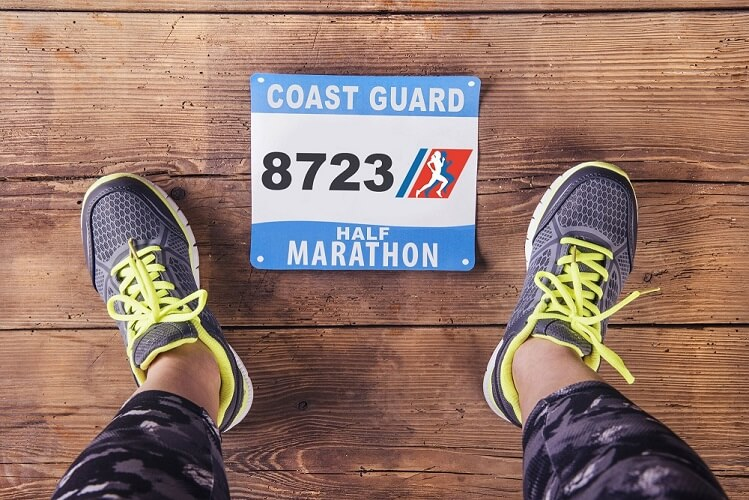 Inaugural Coast Guard Half Marathon